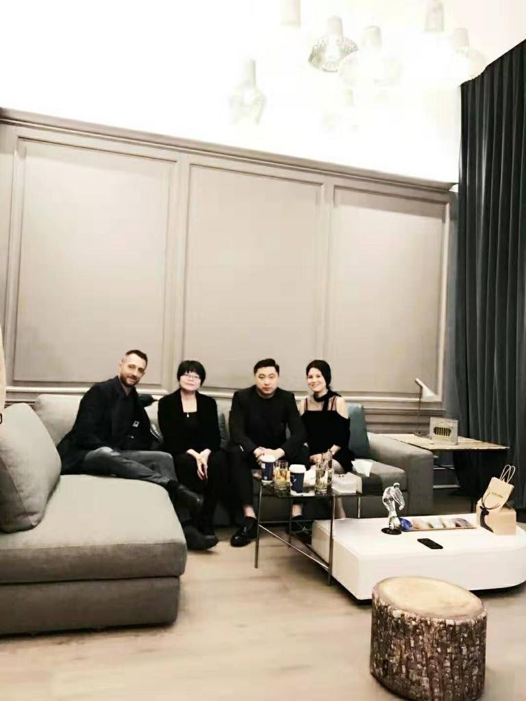 菲利波·贝托(Filippo BertO)访问上海
