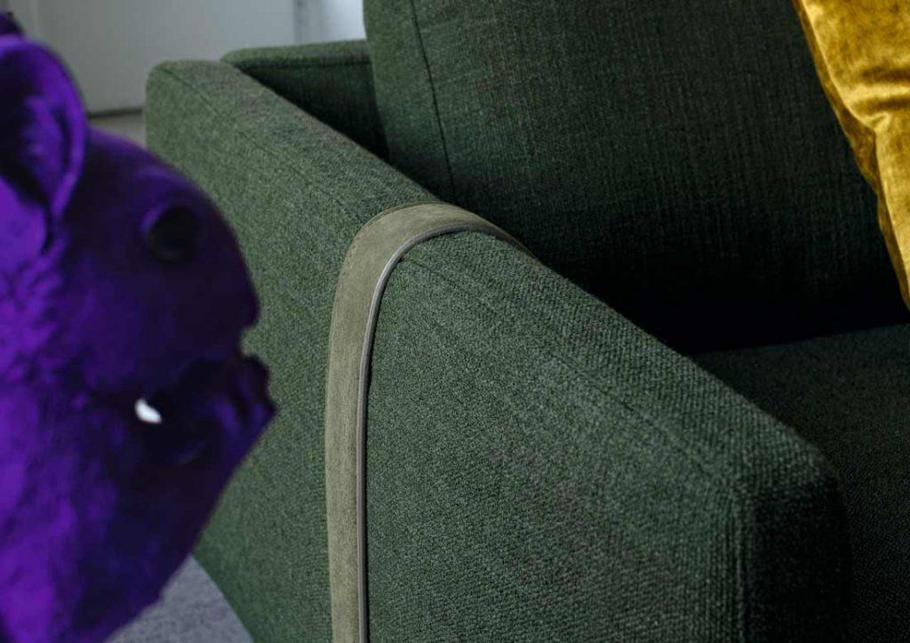 Dee Dee沙发,皮带的调性