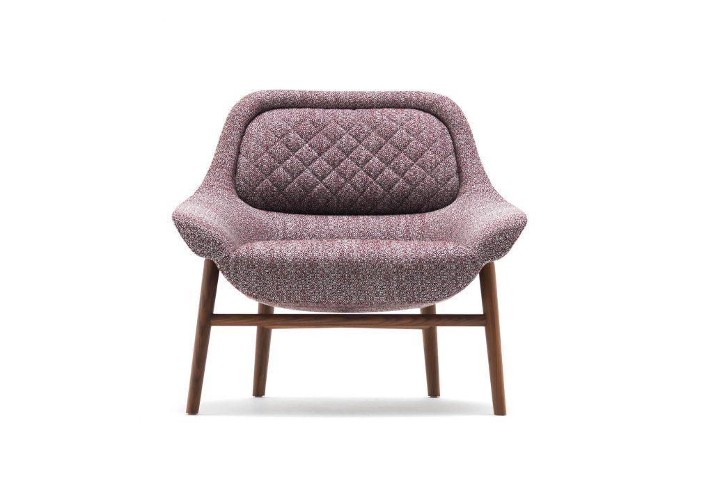 BertO的扶手椅Hanna,设计城堡Castello Lagravinese工作室在2020年米兰设计电影节上实现
