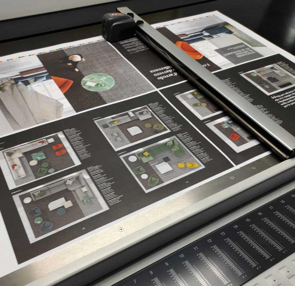 BertoBillboard, BertO的官方杂志--梦想的设计在梅达实现了印刷。