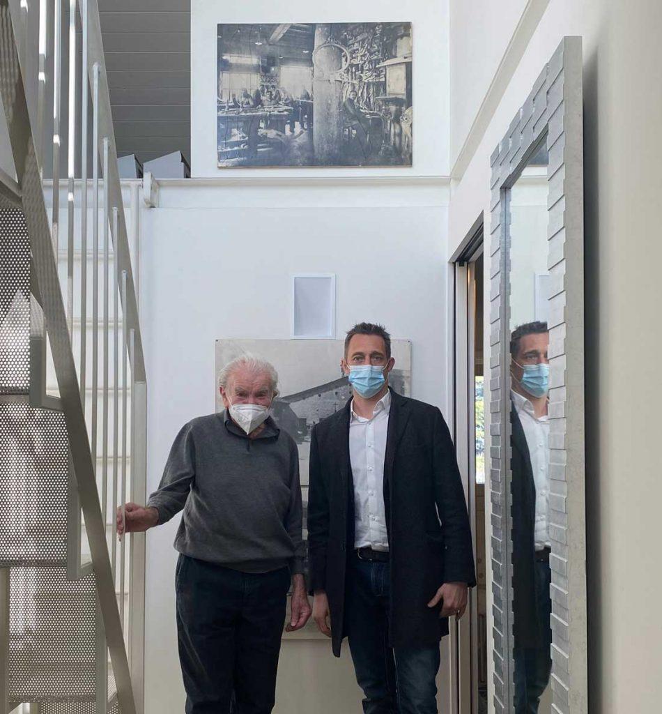 """Eugenio Boga和Filippo Berto为 """"Made in Meda """"项目创作。"""