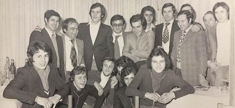20世纪70年代在Brianza的Fioravante和Carlo Berto